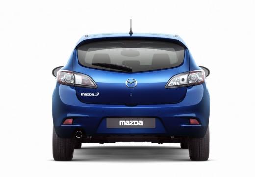 MAZDA 3 IV hatchback niebieski jasny tylny
