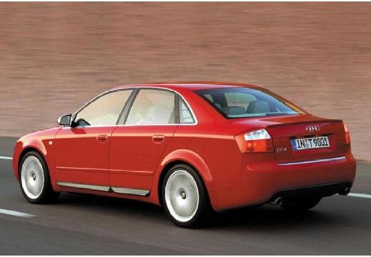 AUDI A4 8E I sedan czerwony jasny tylny lewy