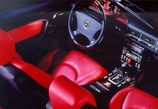MERCEDES-BENZ Klasa SL 300-600SL R129 kabriolet wnętrze