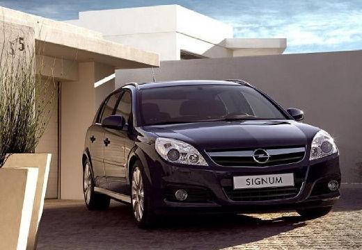 OPEL Signum II hatchback czarny przedni prawy
