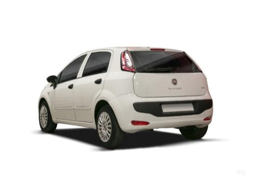 FIAT Punto Evo hatchback biały tylny lewy