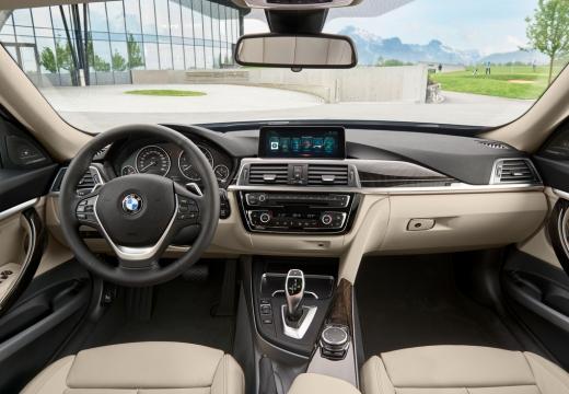 BMW Seria 3 Gran Turismo F34 II hatchback tablica rozdzielcza