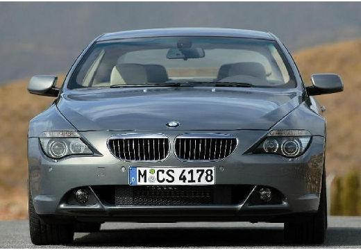 BMW Seria 6 E63 I coupe szary ciemny przedni