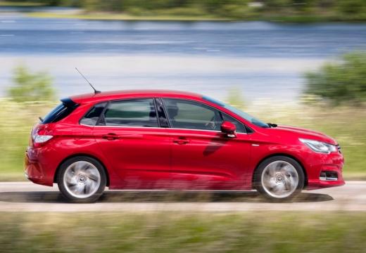 CITROEN C4 III hatchback czerwony jasny boczny prawy