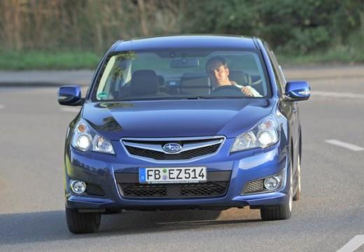 SUBARU Legacy VIII sedan niebieski jasny przedni