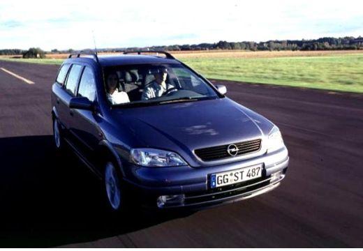 OPEL Astra II Classic kombi niebieski jasny przedni prawy