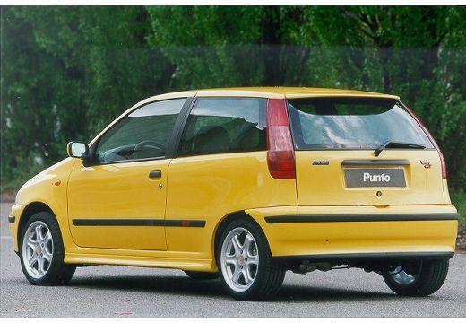 FIAT Punto I hatchback żółty tylny lewy