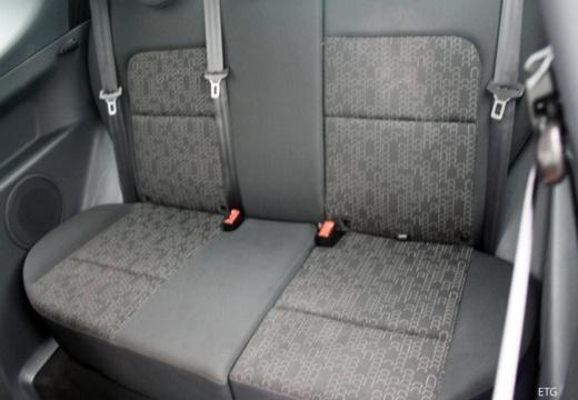MITSUBISHI Colt VI hatchback biały wnętrze