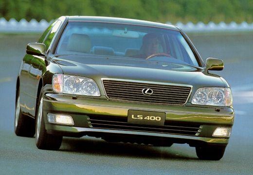 LEXUS LS 400 II sedan zielony przedni prawy