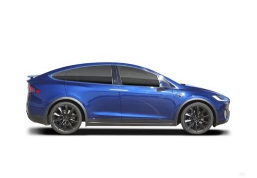 TESLA Model X I hatchback boczny prawy