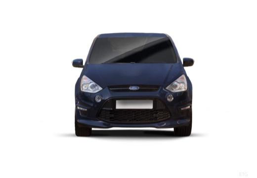 FORD S-MAX II van niebieski jasny przedni