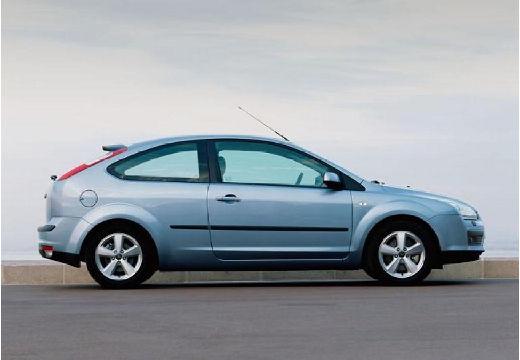 FORD Focus III hatchback niebieski jasny boczny prawy