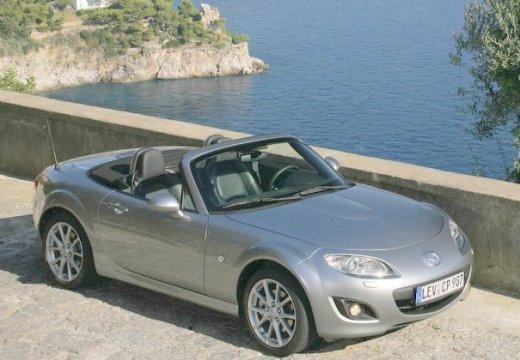 MAZDA MX-5 V roadster silver grey przedni prawy