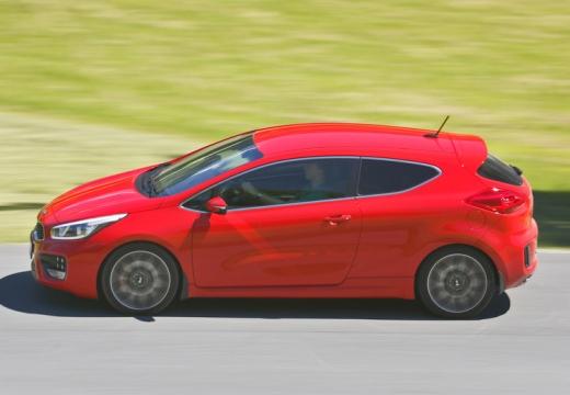 KIA Ceed Proceed IV hatchback czerwony jasny boczny lewy