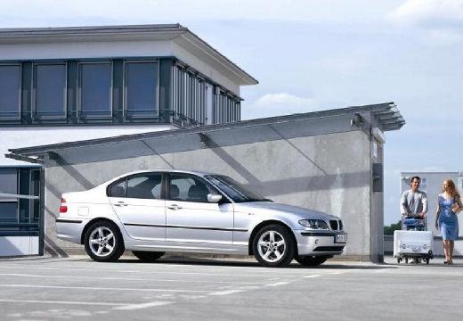 BMW Seria 3 E46/4 sedan silver grey przedni prawy