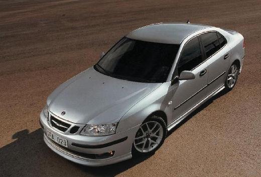 SAAB 9-3 Sport I sedan silver grey przedni lewy