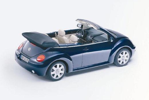VOLKSWAGEN New Beetle Cabriolet I kabriolet niebieski jasny tylny prawy