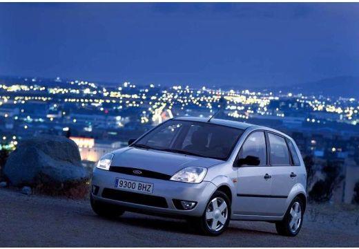 FORD Fiesta V hatchback silver grey przedni lewy