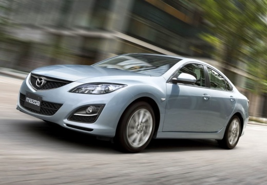 MAZDA 6 sedan silver grey przedni lewy