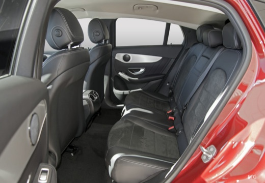 MERCEDES-BENZ Klasa GLC GLC Coupe C 253 hatchback wnętrze