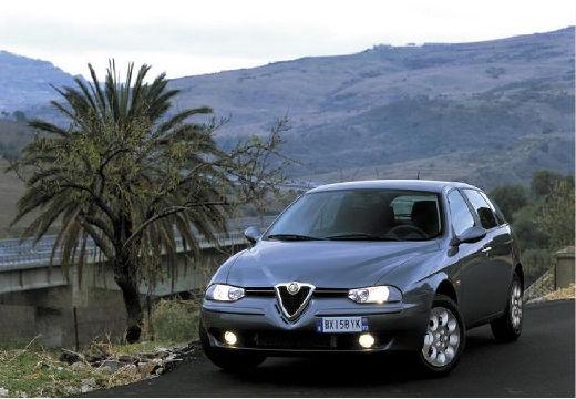 ALFA ROMEO 156 Sportwagon II kombi szary ciemny przedni lewy