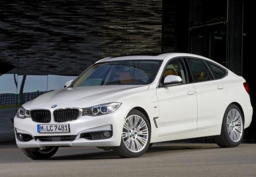 BMW Seria 3 Gran Turismo hatchback biały przedni lewy