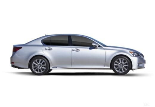 LEXUS GS IV sedan silver grey boczny prawy