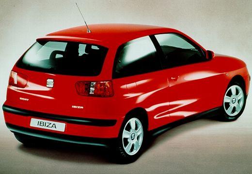 SEAT Ibiza III hatchback czerwony jasny tylny prawy