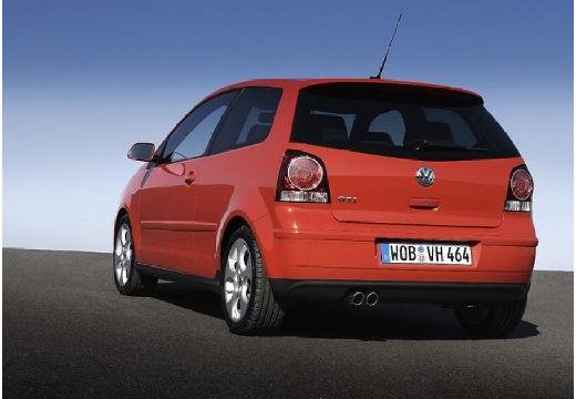 VOLKSWAGEN Polo IV II hatchback czerwony jasny tylny lewy