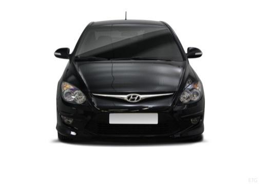 HYUNDAI i30 II hatchback czarny przedni