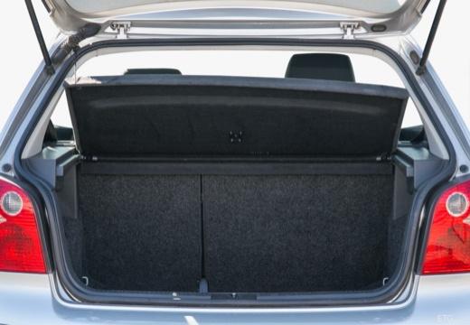 VOLKSWAGEN Polo IV I hatchback przestrzeń załadunkowa