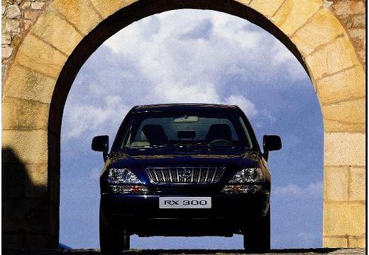 LEXUS RX 300 I kombi czarny przedni