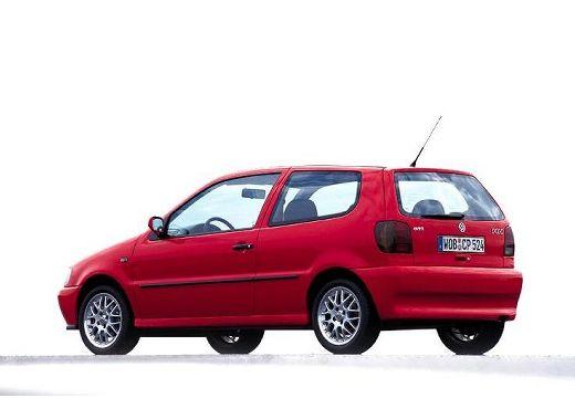 VOLKSWAGEN Polo III I hatchback czerwony jasny tylny lewy