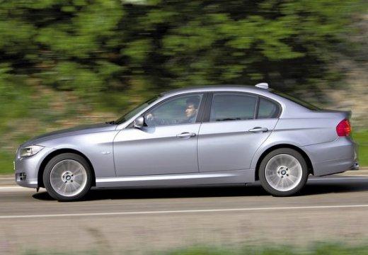 BMW Seria 3 E90 II sedan szary ciemny boczny lewy