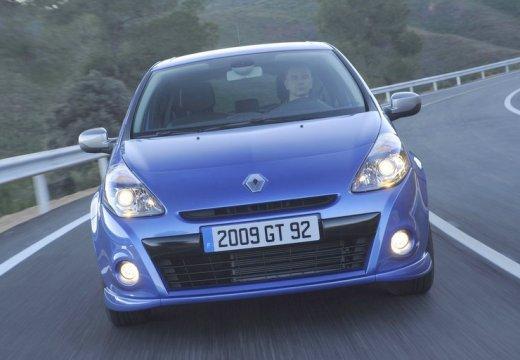 RENAULT Clio III II hatchback niebieski jasny przedni