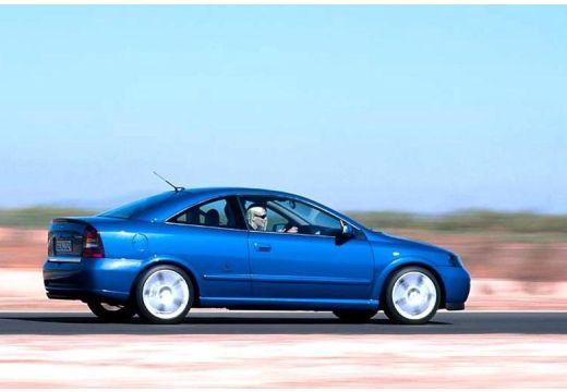 OPEL Astra II Bertone coupe niebieski jasny tylny prawy