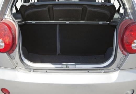 CHEVROLET Spark I hatchback przestrzeń załadunkowa