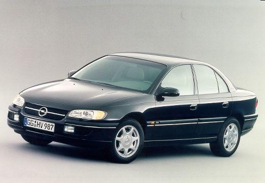 OPEL Omega sedan czarny przedni lewy