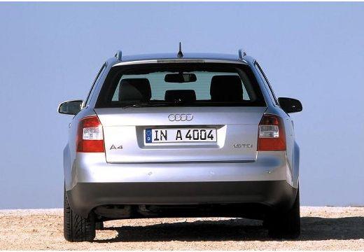 AUDI A4 Avant 8E I kombi silver grey tylny