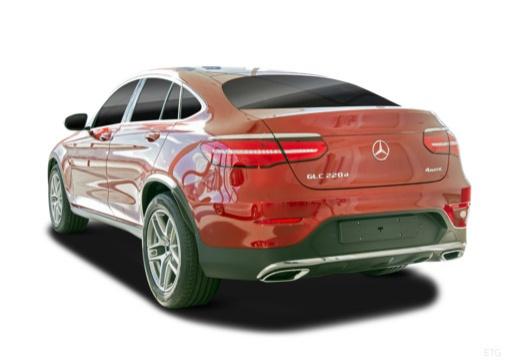 MERCEDES-BENZ Klasa GLC GLC Coupe C 253 hatchback tylny lewy