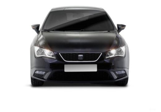 SEAT Leon IV hatchback czarny przedni