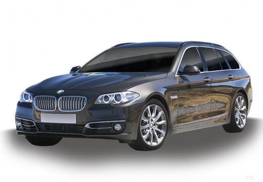 BMW Seria 5 Touring F11 II kombi szary ciemny