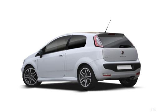 FIAT Punto Evo hatchback tylny lewy