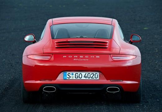 PORSCHE 911 991 I coupe czerwony jasny tylny