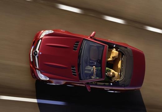 MERCEDES-BENZ Klasa SL roadster czerwony jasny górny przedni