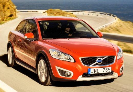 VOLVO C30 II hatchback czerwony jasny przedni prawy