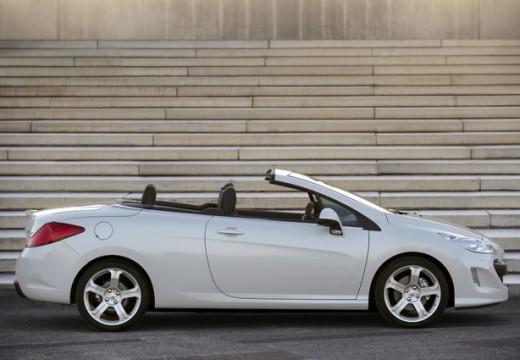 PEUGEOT 308 CC I kabriolet biały boczny prawy
