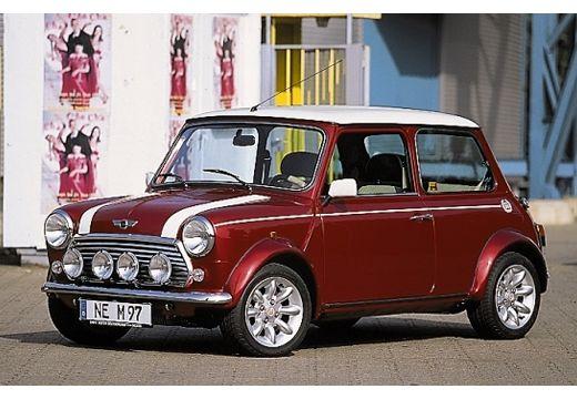 ROVER Mini hatchback czerwony jasny przedni lewy