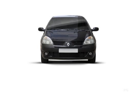 RENAULT Clio II III hatchback czarny przedni