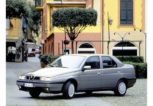ALFA ROMEO 155 I sedan silver grey przedni lewy